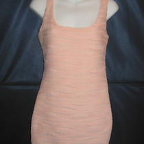 Blush Pink Wavy Pleated Dress - Forever 21 - Size Small Petite Photo