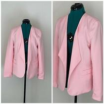 Blush Pink Womens Suit Blazor Jacket by Attention Size 12 Photo