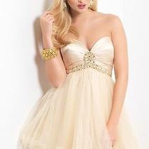 Blush Prom 9405 Formal Prom Cocktail Evening Ball Home Coming Dress Sz 4 Photo
