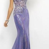 Blush Prom 9500 Size 6 Lavender Photo