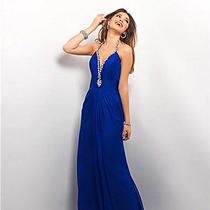 Blush Prom 9612 Formal Prom Cocktail Evening Ball Dress Size 10 Photo