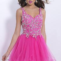 Blush Prom 9874--Color Azelea--Size 4 Photo
