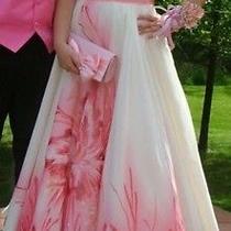Blush Prom a-Line Dress Size 8 Photo