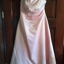 Blush Prom/bridesmaid Dresses. Size 4. Photo