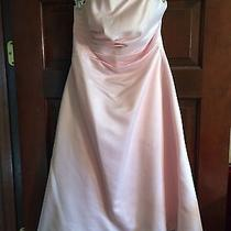 Blush Prom/bridesmaid Dresses .size 8. Photo