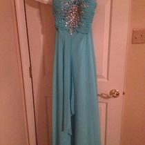 Blush Prom by Alexia Prom Dress - Aqua Size 10 Photo