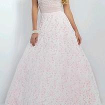 Blush Prom Dress Photo