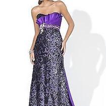 Blush Prom Dress 9370 Purple Photo