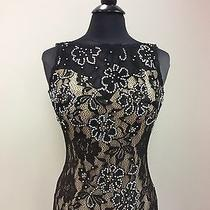 Blush Prom Dress Party  Evening Gown Long Formal  Sexy Color Black Size 14 Photo