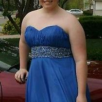 Blush Prom Dress Size 20  Photo