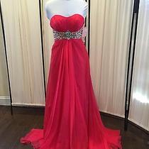 Blush Prom Dress Size 4 Photo