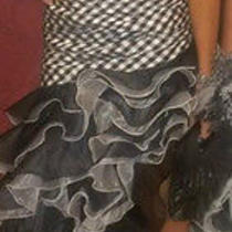 Blush Prom Dress. Size 4 Photo