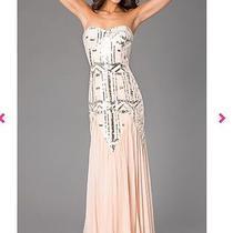 Blush Prom Dress Size 7 Photo