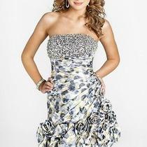 Blush Prom Formal Prom Dress Size 4 9262 Nwt Yellow. Photo