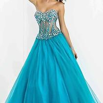 Blush Prom Gown Size 2 Nwt Photo