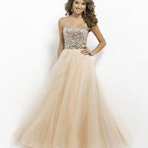 Blush Prom Gown Size 4 Nwt Photo