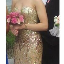 Blush Sequin Prom Dress by Scala Photo