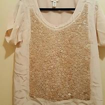 Blush Sequin the Shirt Blouse Jcrew Size M Photo
