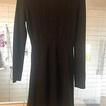 Blush Size Large Black Sweater Dress Fit and Flare Boutique Photo