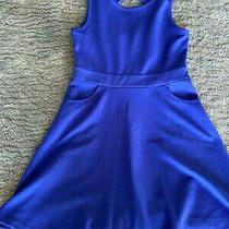 Blush Skater Dress Bright Blue Youth Size 10 Photo