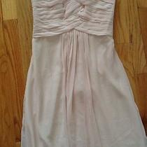 Blush Sleeveless Monique Lhuillier Prom/bridesmaid Gown Sz. 2 Photo