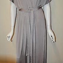 Blush Street Couture Size Large Long Taupe Dress Photo