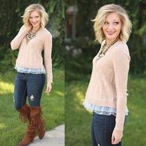 Blush Sweater - to Die For Photo