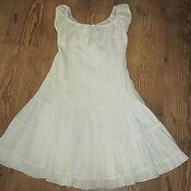 Blush White Dress Size Small  (Tag Unreadable) Photo