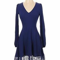 Blush Women Blue Casual Dress S Photo