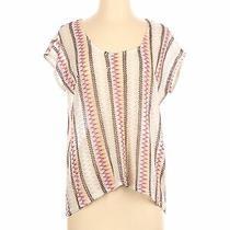 Blush Women Ivory Pullover Sweater S Photo