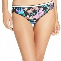 Blush Women's Swimwear Blue Size Medium M Island Hoping Bikini Bottom 48 668 Photo