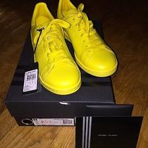 Blush Yellow Raf Simons X Stan Smith Adidas Originals Sneakers Size 8.5 Photo