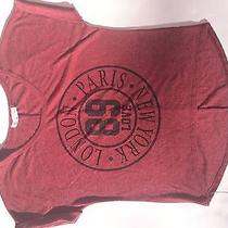 Blushed Sz Lg Tee London Paris New York 89 Love Tee Blush Tops Tees  Photo
