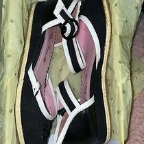 Blushing Black Poetic Justice Sandals Size 7.5 Photo