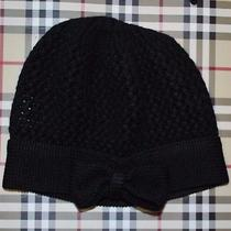 Bn Beautiful Designer Burberry Wool Knit Beanie Hat One Size Italy Photo