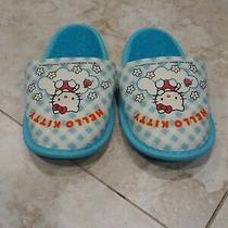 Bn Sanrio Hello Kitty Toddler's House Slippers - 2-3 Yrs Old Photo