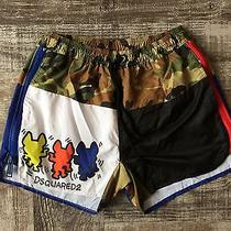Bnew Dsquared Swim Shorts Summer 2016 Size Xl Photo