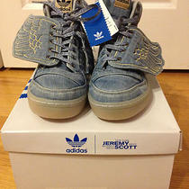 Bnib Adidas Jeremy Scott Denim Wings Size 8 Photo