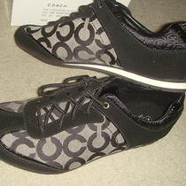 Bnib Authentic Coach Kelbie Op Art Fashion Sneakers Sz 8 M Photo