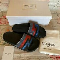 Bnib Balmain 495 Calipso Sandals Size 37 Photo