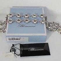 Bnib Blumarine Silver Crystal Swarovski Belt/necklace Photo