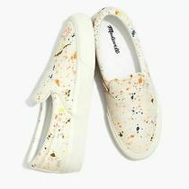 Bnib Madewell Sidewalk Slip-on Sneakers in Paint Splatter Design  Sz 7 Photo