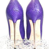 Bnwob Brian Atwood Sprinng Summer Python Pumps Sz 37 (7 Us) Highest Luxury Photo