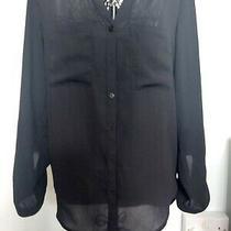Bnwot Black h&m Shirt Size 38 Photo