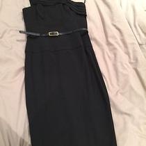 Bnwot Black Halo Black Dress One Shoulder Photo