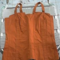 Bnwot Bottega Veneta Dusty Orange Corset Top 40 Rare  Photo