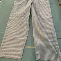 Bnwot Land's End Men's 36-38 Large Striped Pockets Large Pajama Bottoms Photo