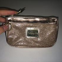 Bnwot Rose Gold Pink Sparkly Betseyville Betsey Johnson Clutch Bag  Photo