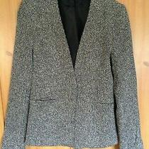 Bnwot Top Shop Tall Black and White Open Blazer Fully Lined Uk Size S  Photo