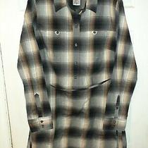 Bnwot Womens Patagonia Featherstone Flannel Plaid Dress (Size 10) Msrp 89.00 Photo